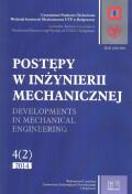POSTĘPY W INŻYNIERII MECHANICZNEJ. Developments in mechanical engineering  4(2) 2014